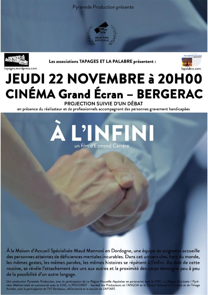 thumbnail of affiche film à l'infini